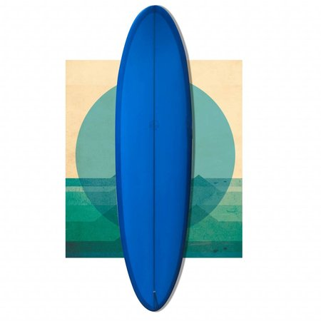 Bob Mitsven 7'4 egg BLUE // SOLD