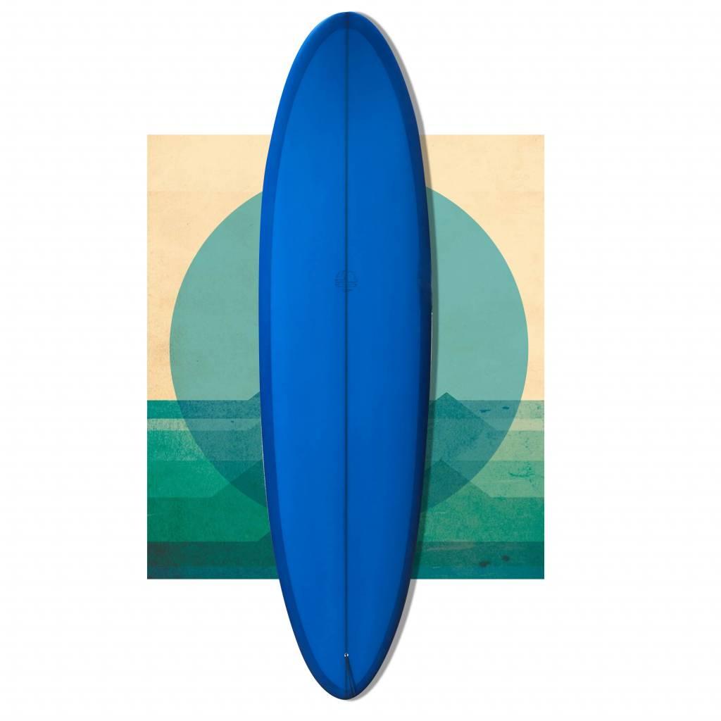 Bob Mitsven 7'4 egg BLUE // SOLD