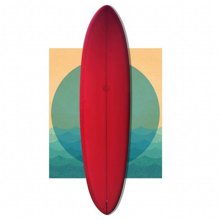 Bob Mitsven 7'2 egg RED SOLD!