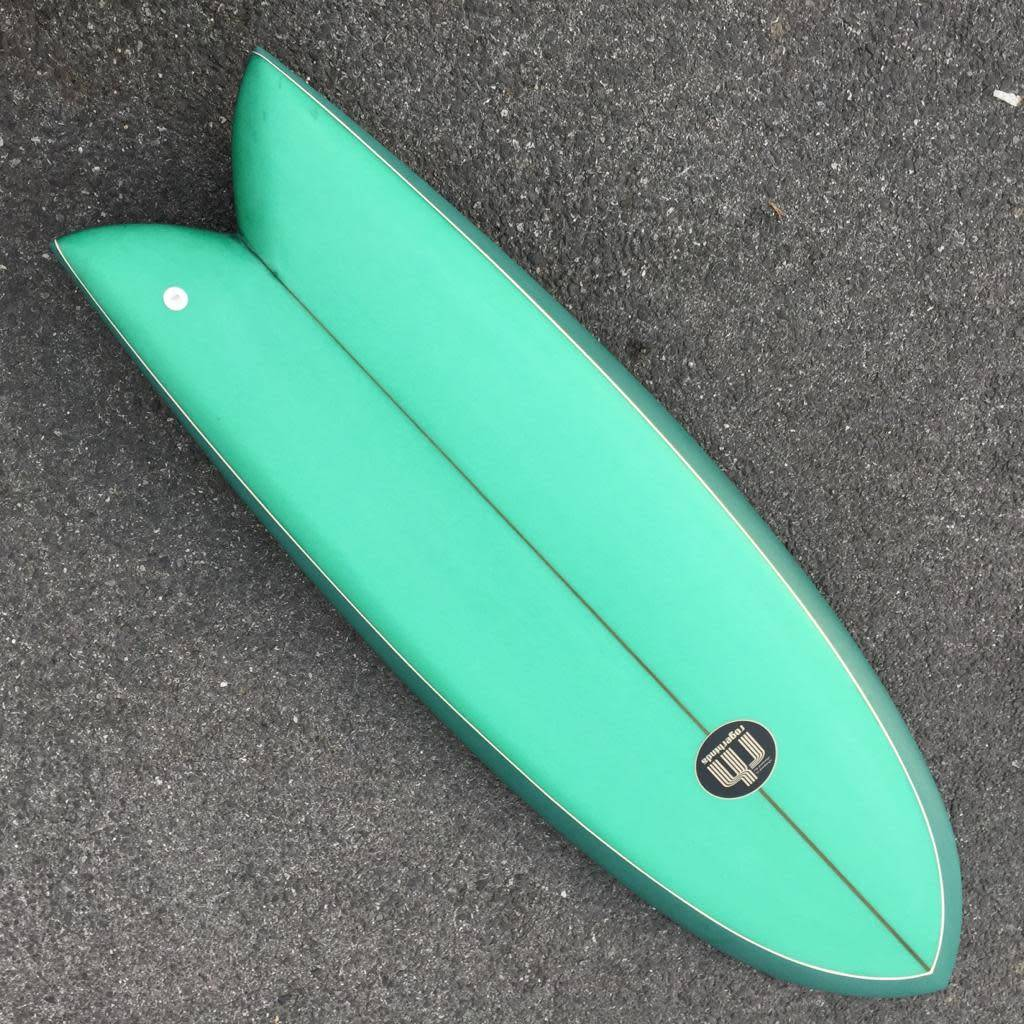 Roger Hinds King Fish 5'7 // SOLD