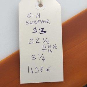Gato Heroi Surfar 9'3 // SOLD