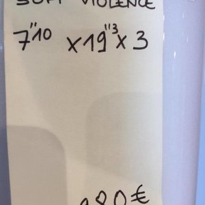 SOFT VIOLENCE 7'10