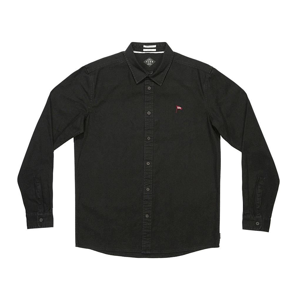 The Critical Slide Society TCSS Patriot Black Longsleeve Shirt