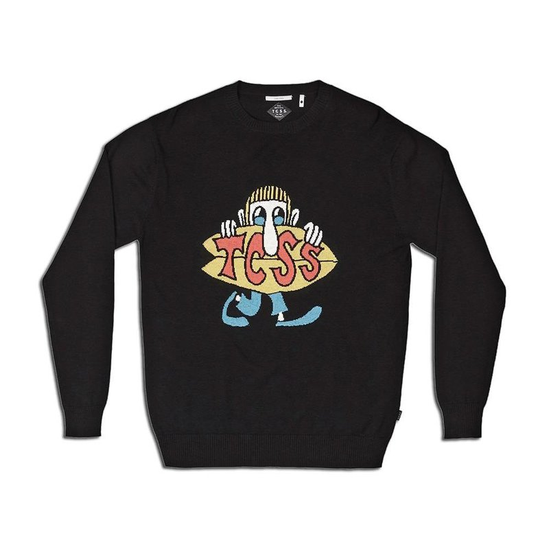 The Critical Slide Society TCSS Greenough Knit Crew Sweater