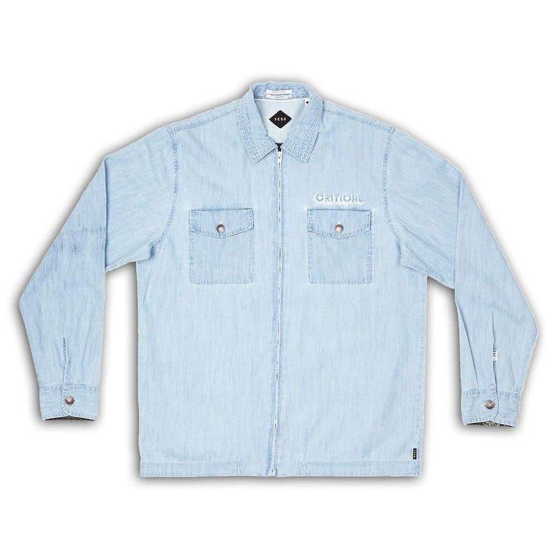The Critical Slide Society TCSS Chamber Longsleeve Shirt Chambray