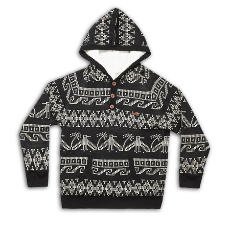 The Critical Slide Society TCSS Ruins Hoody Knit Black