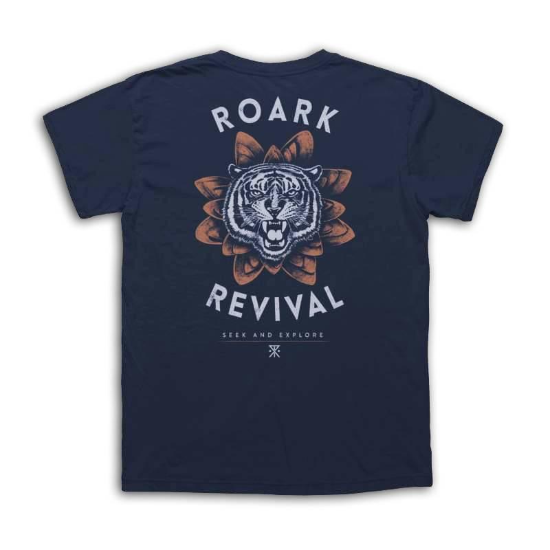 Roark Revival Roark tiger lotus tee