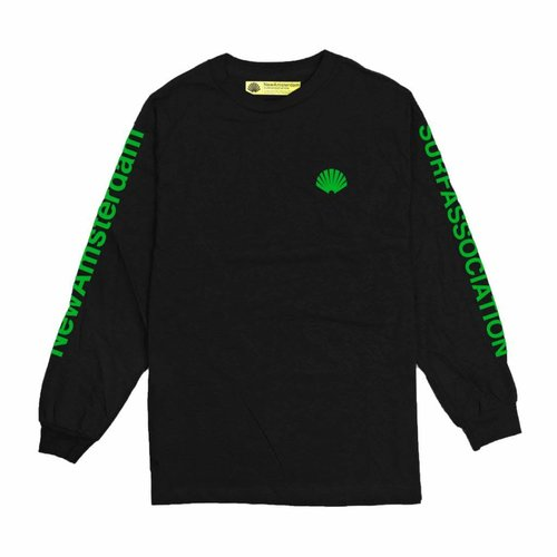 New Amsterdam Surf Association New Amsterdam SHELL GREEN  LONGSLEEVE