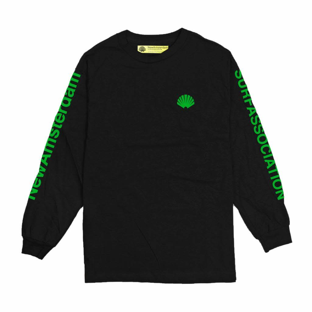 New Amsterdam SHELL GREEN  LONG SLEEVE