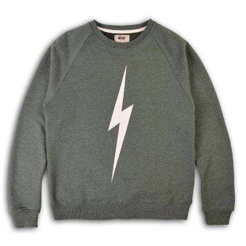 Lightning Bolt FOREVER CREW Vintage Green