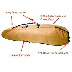 Wavetribe 6'7 travel double boardbag
