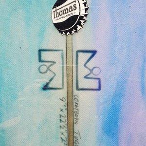 Thomas Bexon Tugu 9'0 Pintail Longboard