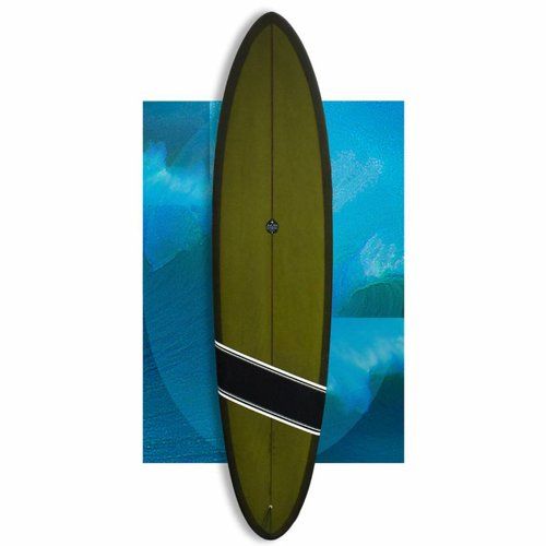 Josh Hall Panacea Egg 7'11 Seaweed Green // REVIVED