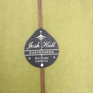 Josh Hall Panacea Egg 7'11 Seaweed Green // REVIVED