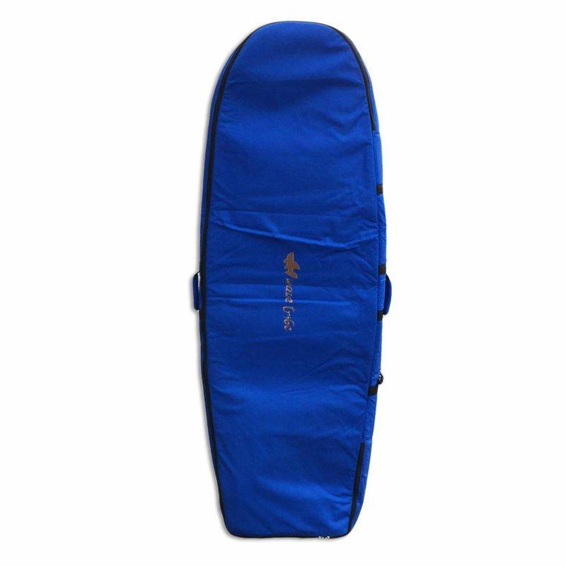 Wavetribe Wavetribe 6'2 minisimmons hemp travel double boardbag blue