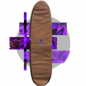 Wavetribe Wavetribe 8'6 hemp travel malibu double boardbag brown