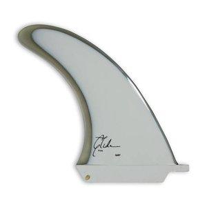 GLIDE FINS JCG9 Single Fin White