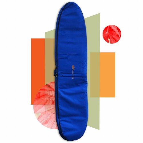 Wavetribe 9'6 hemp travel double boardbag blue