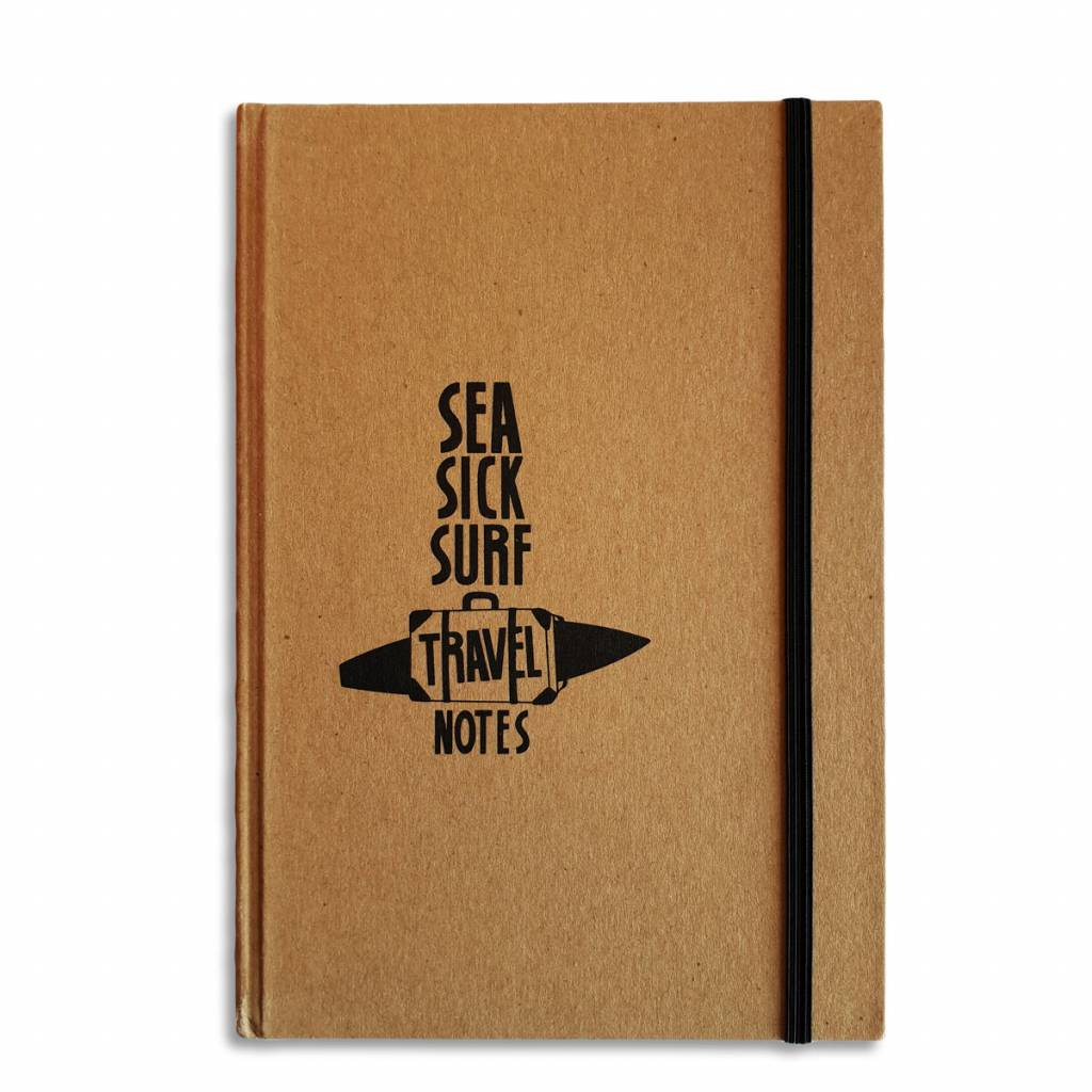 Sea Sick Surf Travel Notes Hardcover Notebook