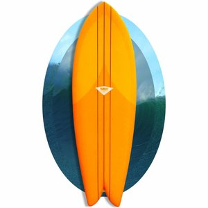 Panther 5'8 Keel Fish Tangerine // goners, srry//