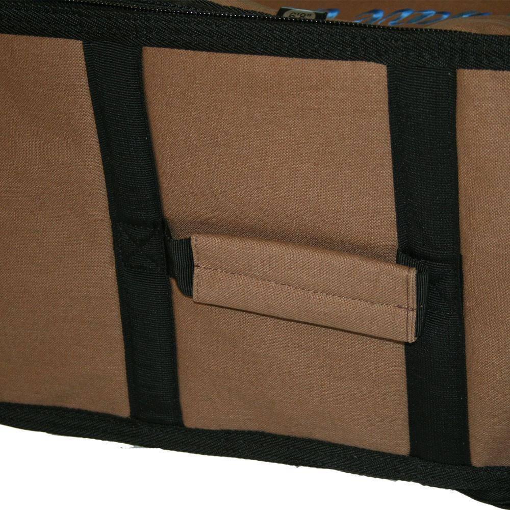 Wavetribe Wavetribe 7'6 wheeled hemp triple midlength travel boardbag blue