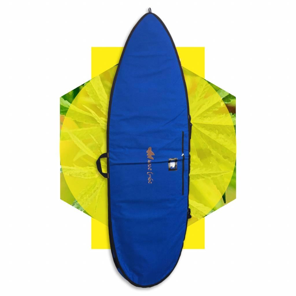 Wavetribe Wavetribe 6'6 fish hemp daybag single boardbag blue