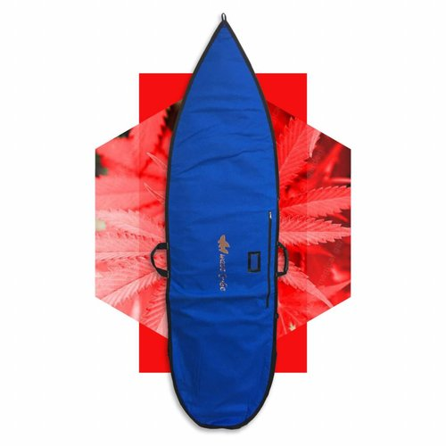 Wavetribe Wavetribe 6'6 shortboard hemp daybag single boardbag blue