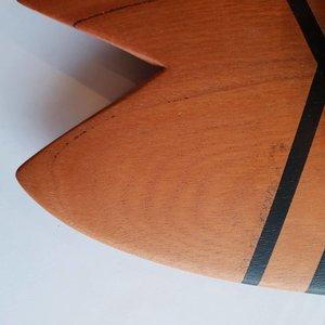 Le Bucheron de la Mer Handplane Skarvig Fish Black