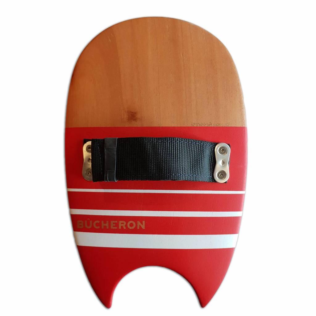 Le Bucheron de la Mer Handplane Loar Bat Tail Red
