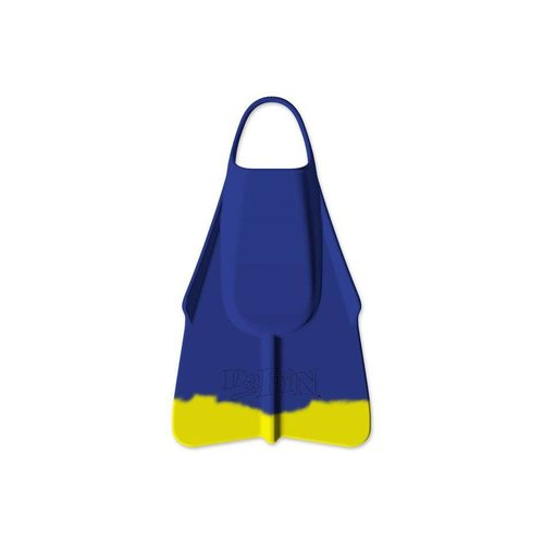 Dafin Fins Navy & Yellow