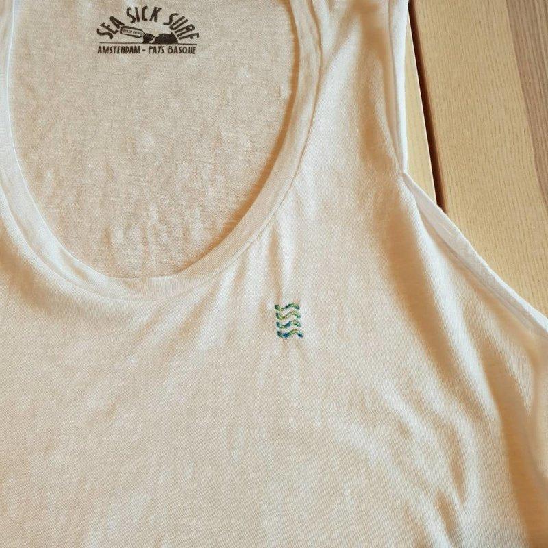 Sea Sick Surf Sea Sick Surf Women's tank top white