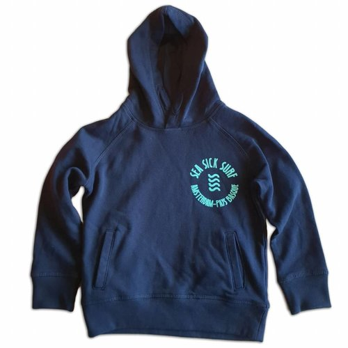 Sea Sick Surf Sea Sick Surf Grom Hoodie Navy