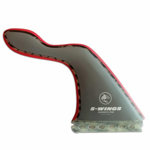 S-Wings Biomimetic Fins S-wings 520 TWIN RED CARBON