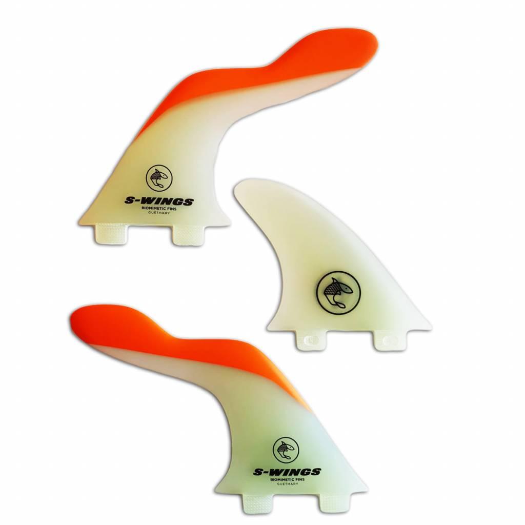 S-Wings Biomimetic Fins S-wings SW500 orange fcs