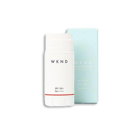 WKND underwater sunscreen WKND Underwater sunstick SPF50+ white