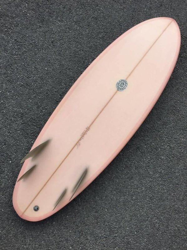Neal Purchase Junior Quartet 5'6 Rose // PRELOVED