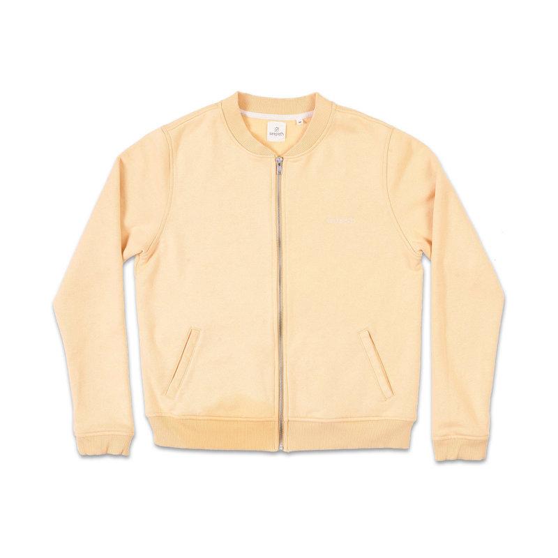 Seapath Seapath Zip Jacket Apricot