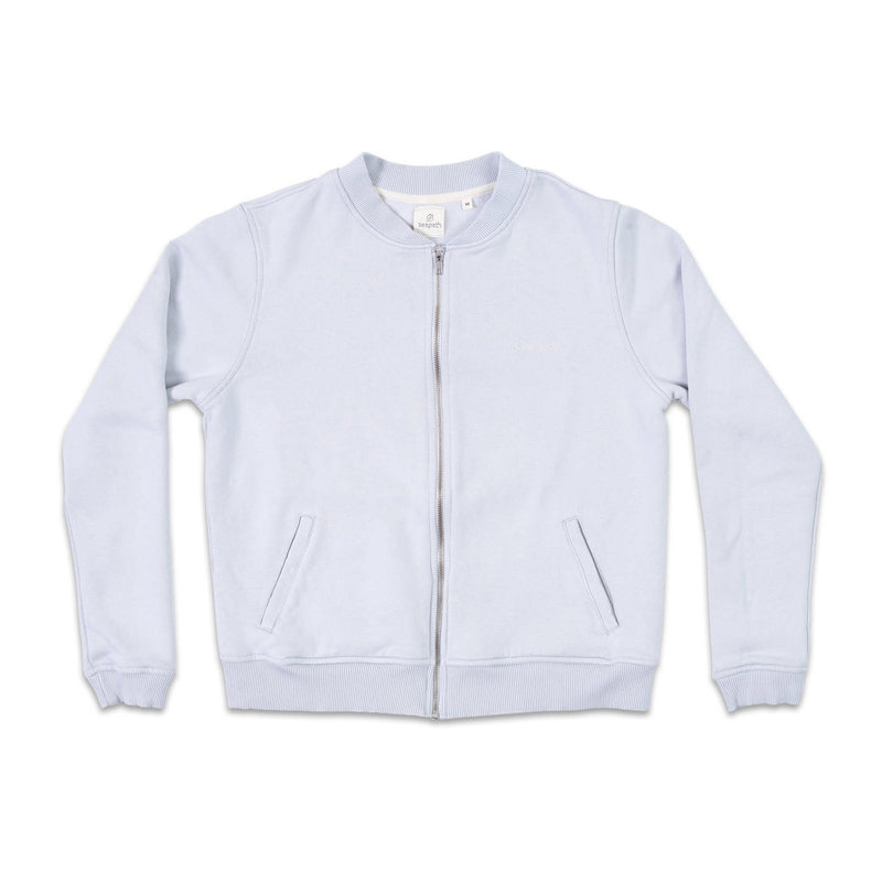 Seapath Seapath Zip Jacket Light Grey
