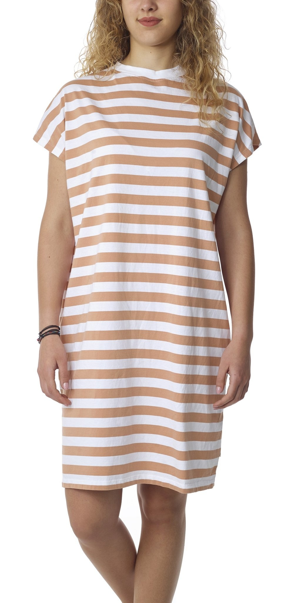 Seapath Seapath Line Dress Salmon