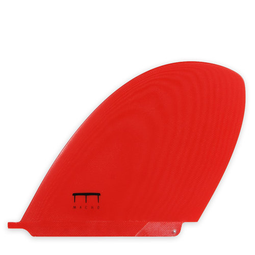 Macho Fins Macho D Fin 9' Red