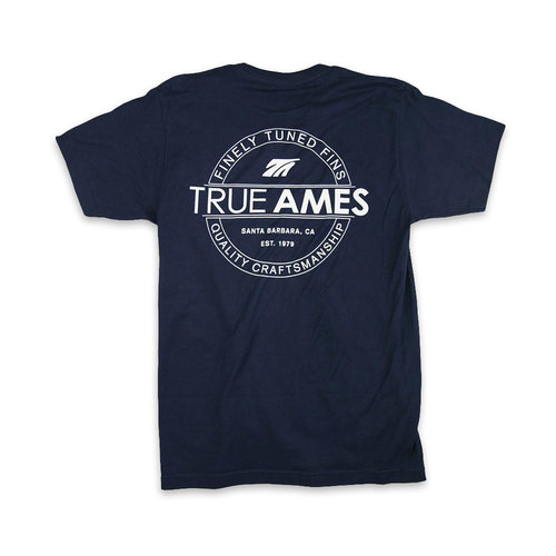 True Ames True Ames Heritage Tee Navy