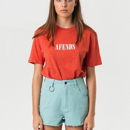Afends Lithium Fashion Fit Tee Sienna