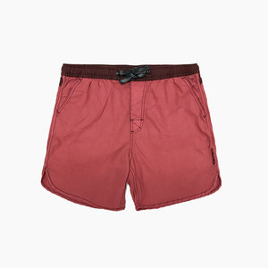 The Critical Slide Society TCSS Plain Jane Scallop Boardshort Matador Red