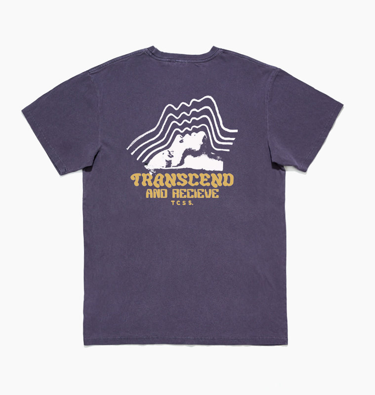 The Critical Slide Society TCSS Transend Tee Cyber Grape