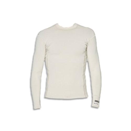 NCHE 1mm Long Sleeve Wetsuit Jacket Vest Chalk