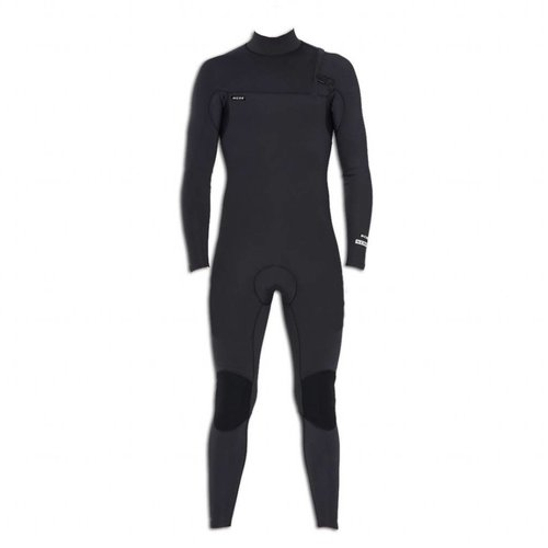 NCHE 2/2 Mens Long Sleeve Full Suit Wetsuit Black
