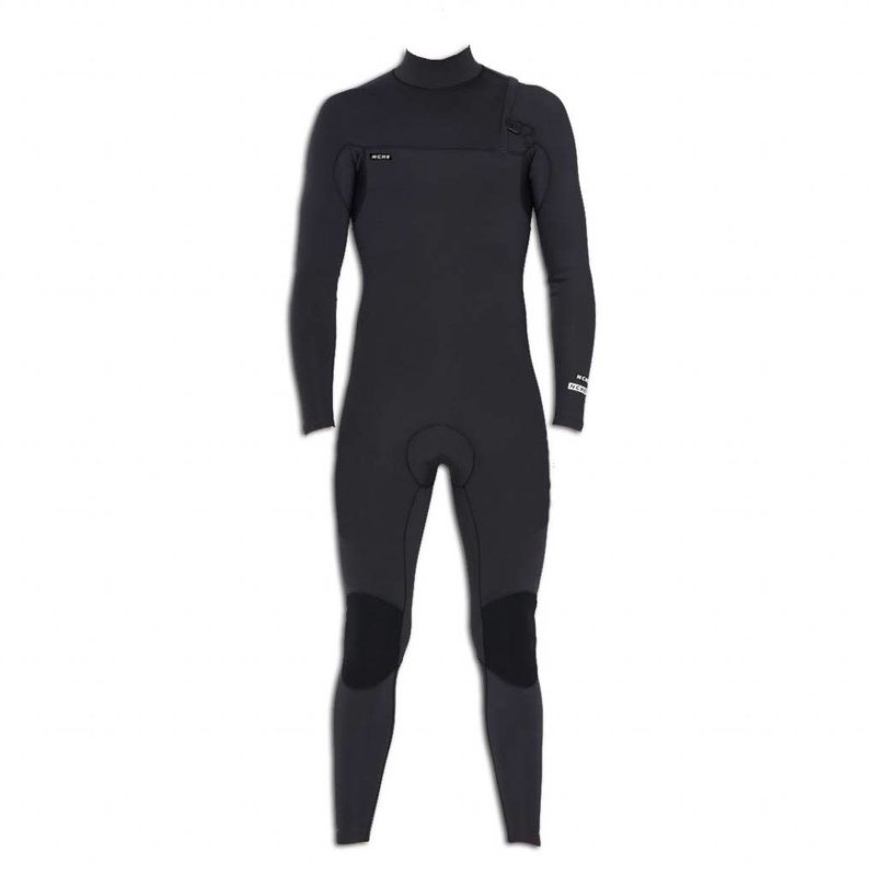 NCHE 2/2 Mens Long Sleeve Full Suit Wetsuit Black