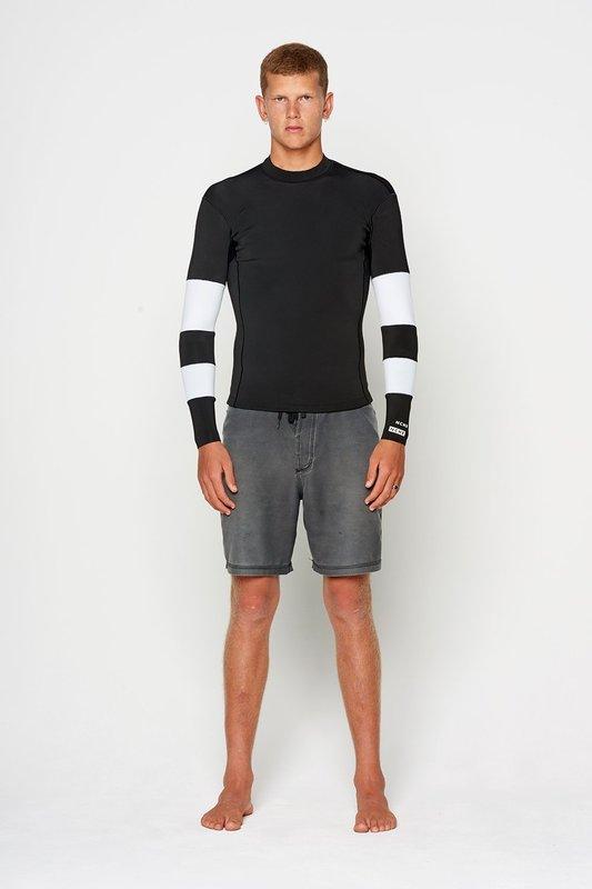 NCHE 1.5mm Long Sleeve Wetsuit Jacket Vest Black White