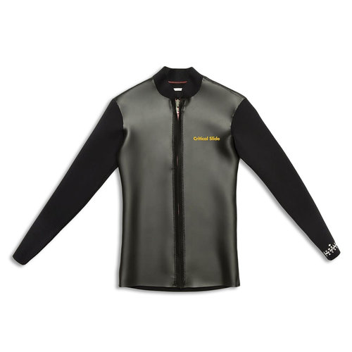 The Critical Slide Society TCSS Jumbled Front Zip Jacket Black II
