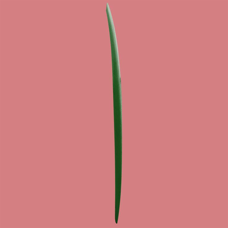 Troy Elmore Raven 6'8 Single Fin Green